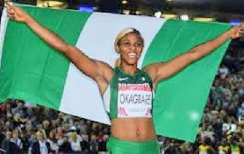 Guinness Book of World Records recognises Okagbare…