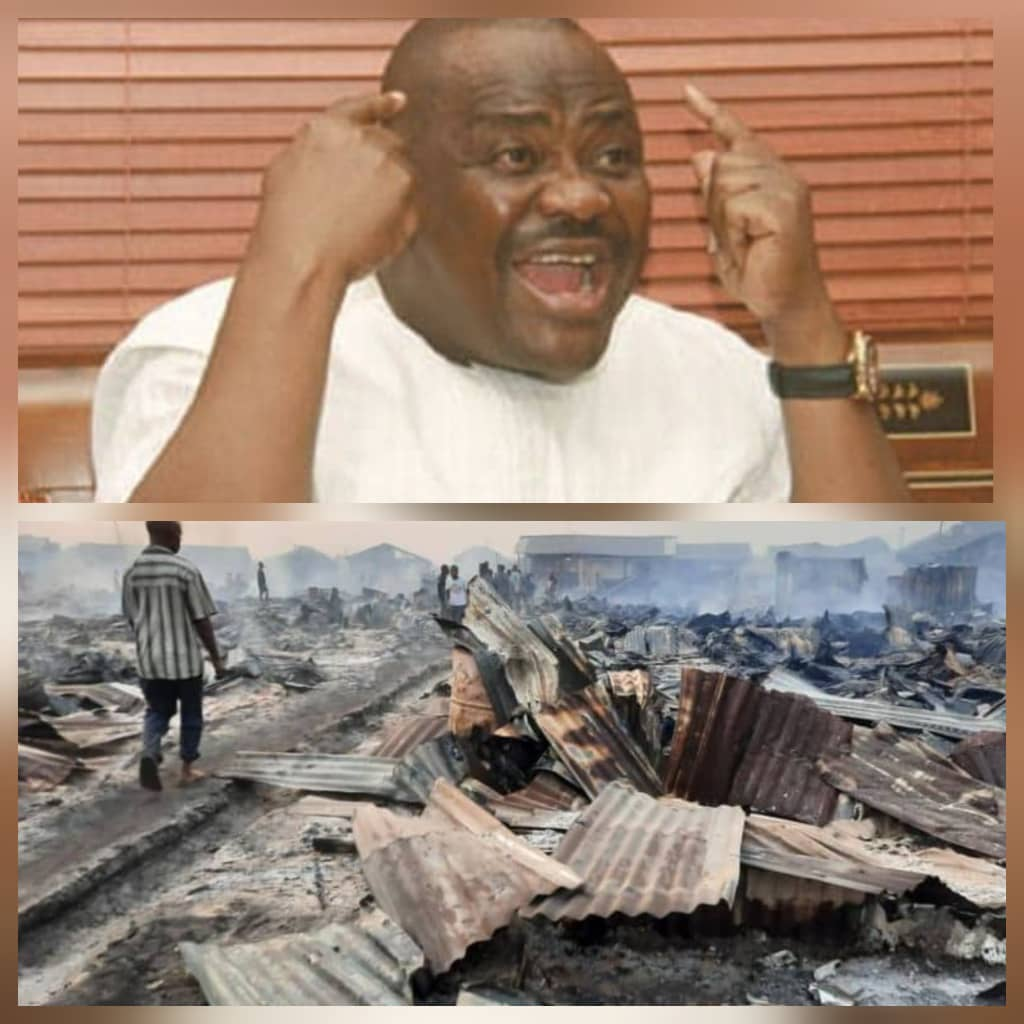 RIVERS FIRE OUTBREAK: Tell Your Friend Wike To Pay Attention To Plight of Traders, Fire Victims — Eze Tells Ortom, Tambuwal