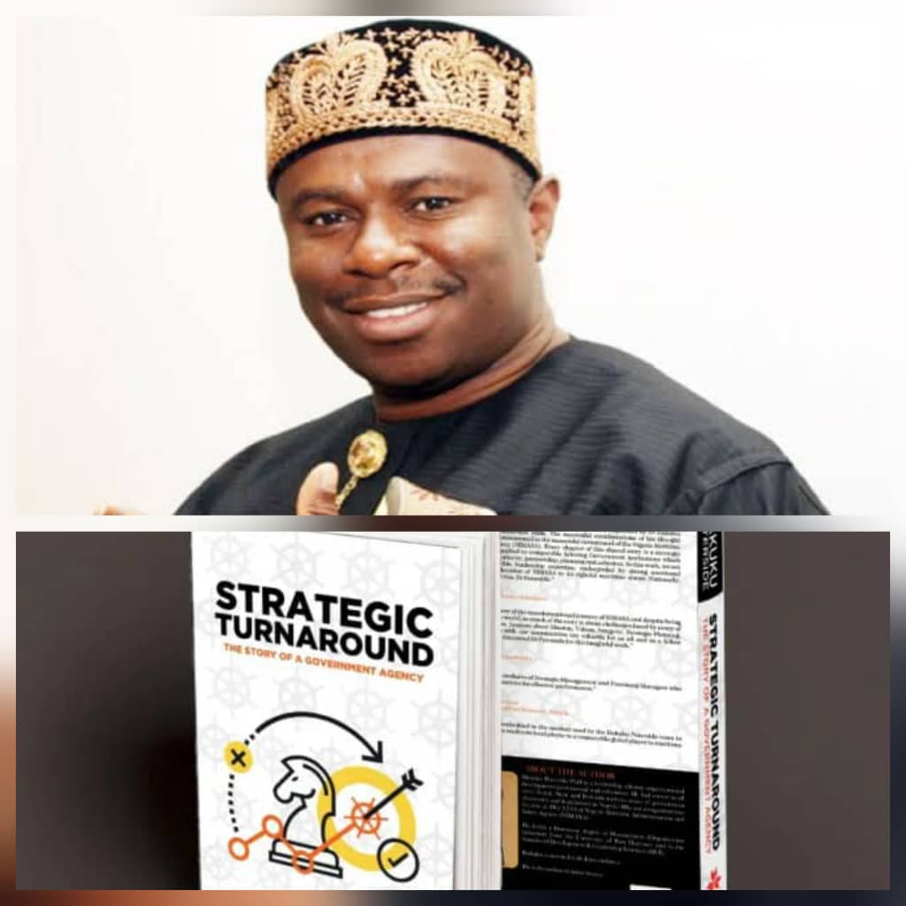 Dakuku's World Class Book on Strategic Governance is a milestone that Distinguishes him as a world-class leadership material ~ Eze
