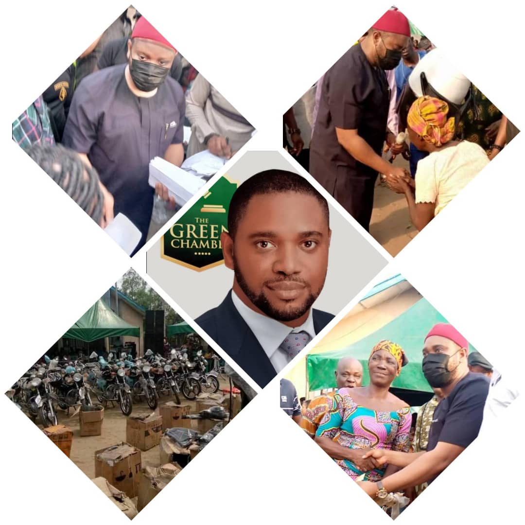 Oyigbo Quakes As Dike Empowers Over 2000 Constituents, demystifies the PDP State Chairman as thousands of PDP Decamped to APC