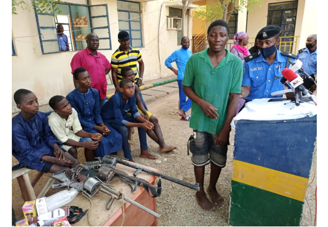 25 year old man arrested, who provides medical services to armed bandits in Katsina