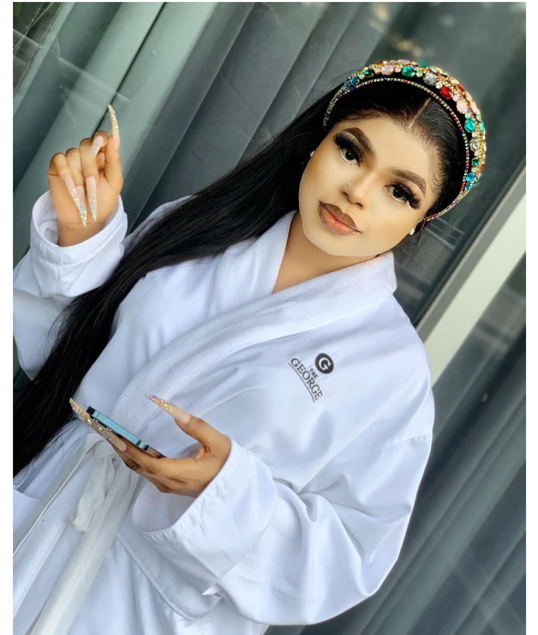 """""""85% of his skin is damaged"""" – Bobrisky exposed!"""