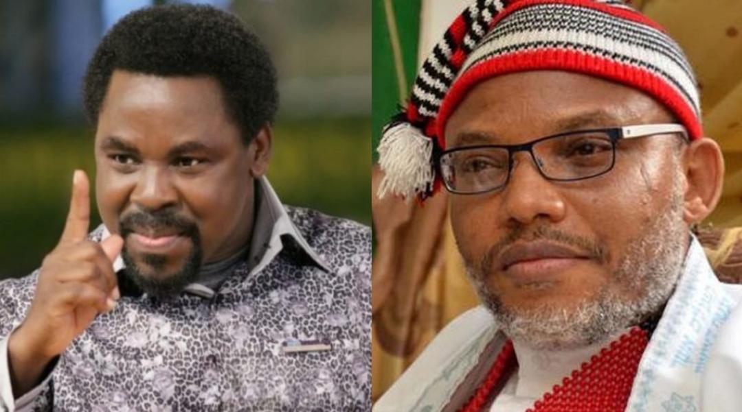 God told me Prophet TB Joshua did not make heaven. Nnamdi Kanu may die soon-Pastor Peters